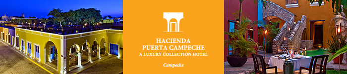 Accommodations at Hacienda Puerta Campeche